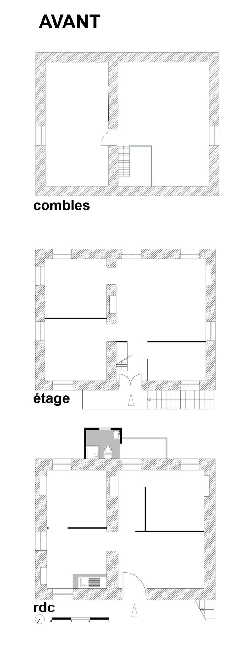 Plan d une maison simple d habitation maison moderne for Plan maison d habitation