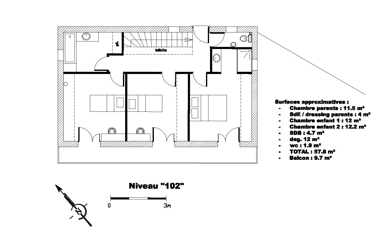 Construire sa maison sur un terrain en pente for Plan maison pour petit terrain