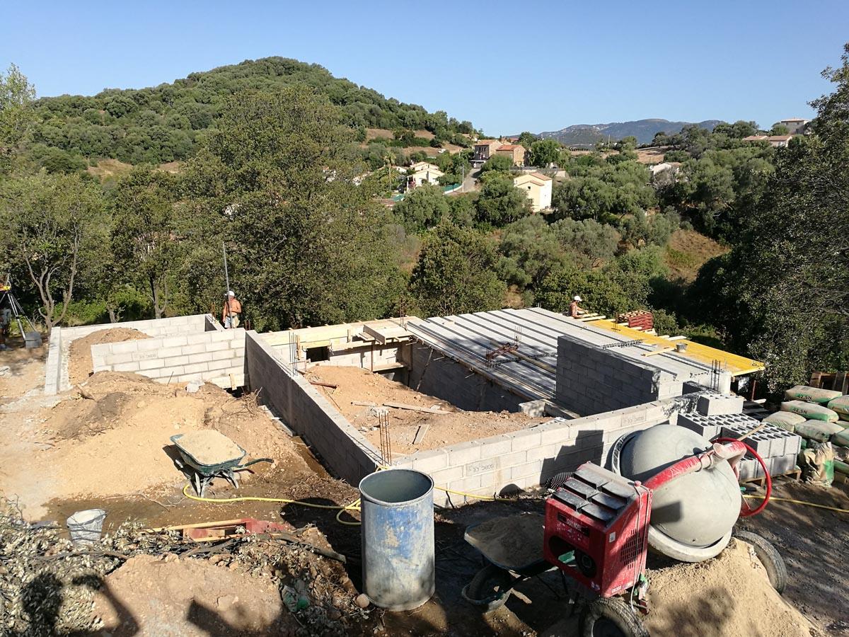Cout construction maison terrain en pente for Construction terrain
