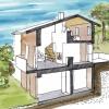 Construction d'une maison d'habitation à Bilia
