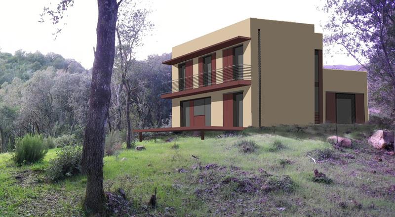 maison conomique pos e sur la colline pour une famille recompos e atelier rnb. Black Bedroom Furniture Sets. Home Design Ideas