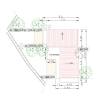 plan masse ensemble chambres independantes