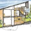 construction d'un immeuble de quatre logements