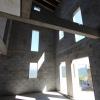 vue interieure avant pose planchers bois