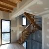 pose de l'escalier frêne