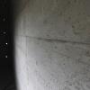 le mur en béton de la chambre