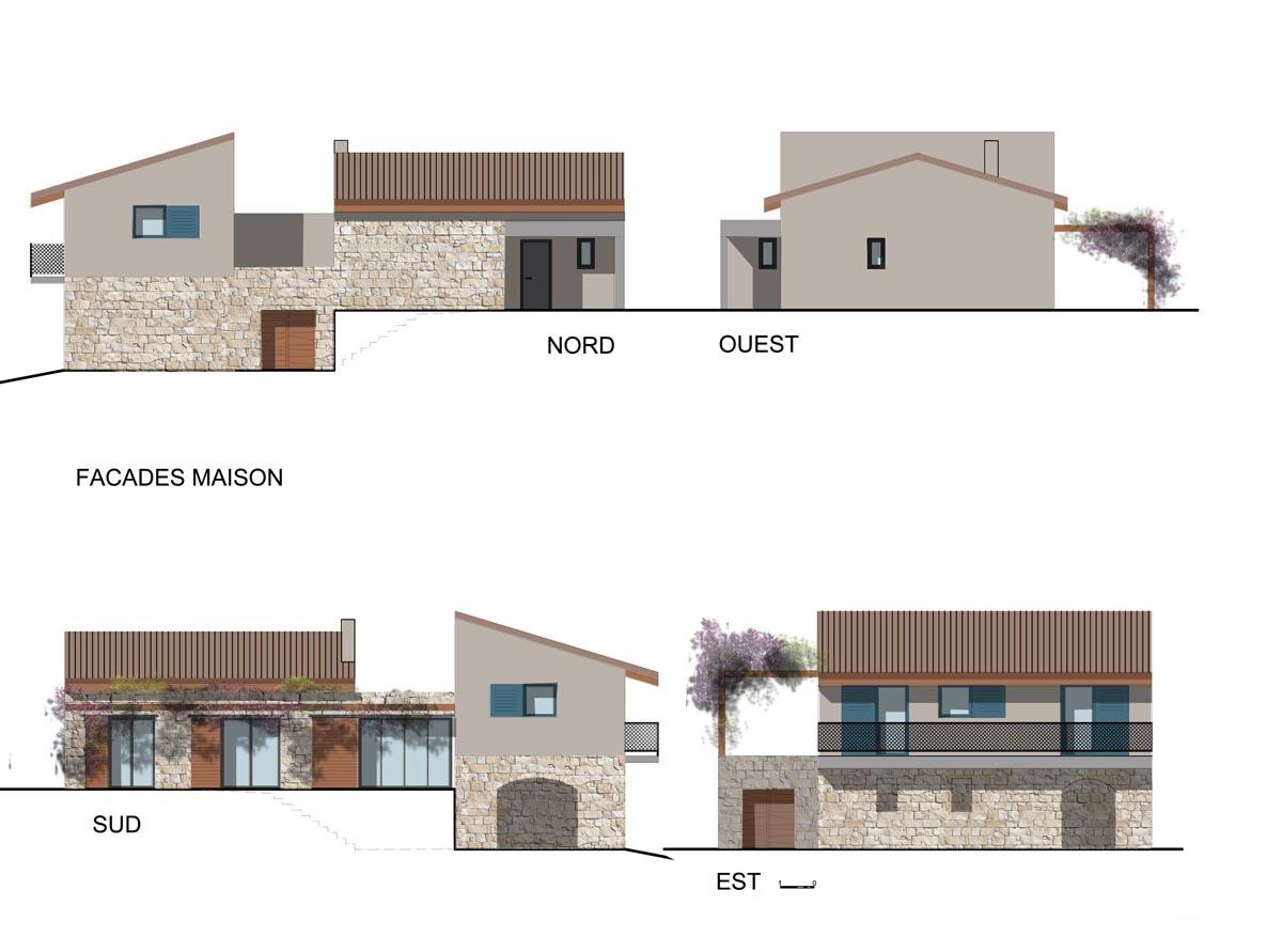Construction d 39 une maison familiale dans le cortenais for Se construire une maison