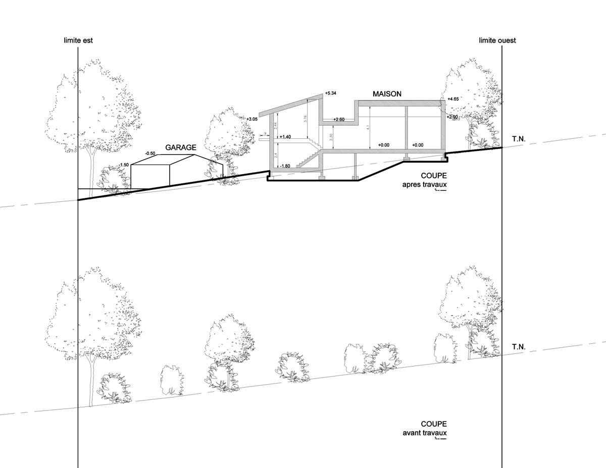 Construction D Une Maison Familiale Dans Le Cortenais Atelier Rnb