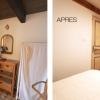 Avant - Apres : La chambre