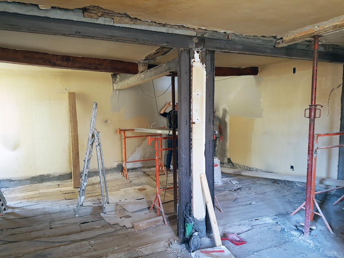 R novation d 39 un duplex et s paration en un appartement et - Appartement en duplex abraham architects ...