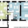 transformation de combles en deux appartements-plan après