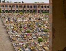 Entre théâtre et jardin, le cimetière de Volterra