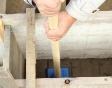Formation au pisé, pour une maison en autoconstruction