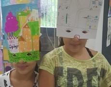 Les portes du temps : atelier de sensibilisation au patrimoine avec les enfants des Salines
